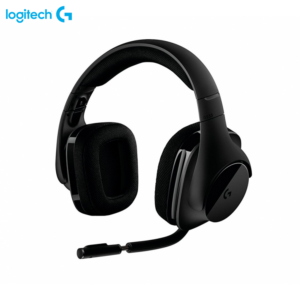 цены на Earphones & Headphones Logitech G533 Wireless 981-000634 computer wired wireless headset bluetooth  в интернет-магазинах
