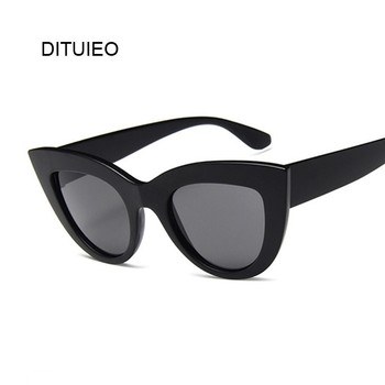 Cat Eye Fashion Sunglasses Women Vintage Luxury Brand Designer Black Glasses Sun Glasses For female UV400 Eyewear Shades