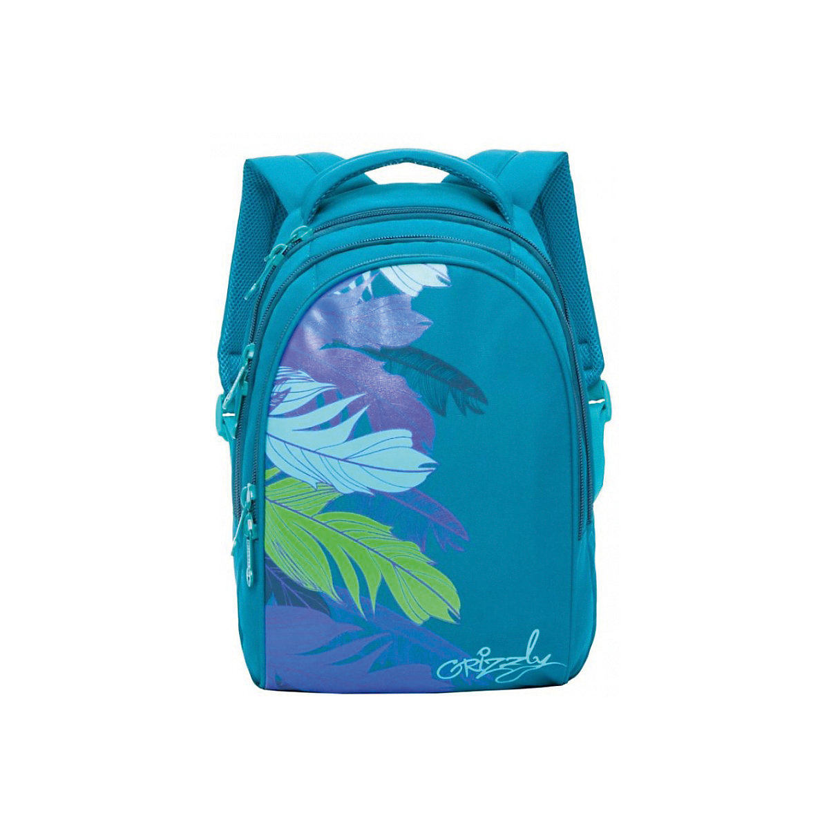 School Bags GRIZZLY 8333942 schoolbag backpack orthopedic bag for boy and girl animals flowers men original leather fashion travel university college school book bag designer male backpack daypack student laptop bag 9950