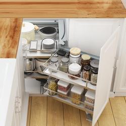 Malzemeleri Organizar Para Colgar En La Ducha Und Lagerung Cestas Corredera Küche Organizer Cocina Küche Schrank Warenkorb