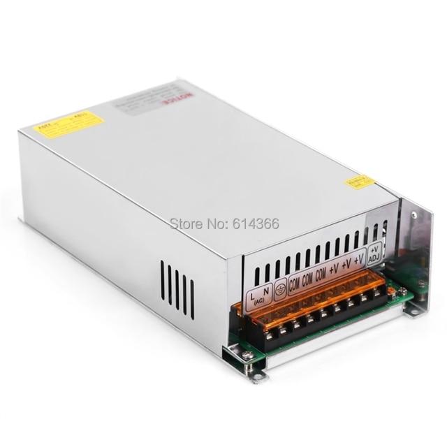 Vente DC 12 V 13.5 V 15 V 24 V 27 V 30 V 36 V 48 V 60 V 68 V 72 V 110 V alimentation à découpage 500 W 600 W transformateur de Source Ac Dc SMPS