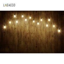 Laeacco Gradient Color Light Bulb Backdrop Portrait Photography Backgrounds Customized Photographic Backdrops For Photo Studio
