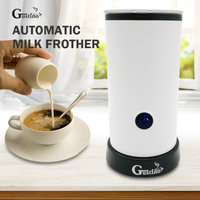 Gustino Electric Automatic Milk Frother For Coffee Cappuccino Latte Coffee Portable Home Cafe Kitchen Mixer Hot Chocolate Gift