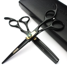 6 inch berber makas hairdressing scissors hair professional 440c stainless steel cutting shears kit thinning scissors tesoura