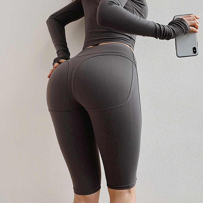 big ass in tight spandex booty shorts