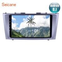 Seicane 9 Android 8,1 HD 1024*600 автомобильный gps мультимедиа навигационная система, стереомагнитола плеер для 2007 2008 2009 2011 TOYOTA CAMRY с музыкой USB AUX