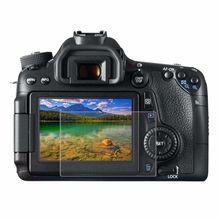 PULUZ камера 2.5D изогнутые края 9H твердость поверхности Закаленное стекло протектор экрана для Canon 650D 70D 700D 750D 760D 80D