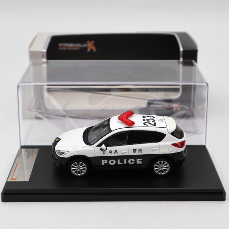 Premium X 1:43 Mazda CX 5 2013 Japanese Police PRD485 Diecast Models Toys Car Limited Edition Collection