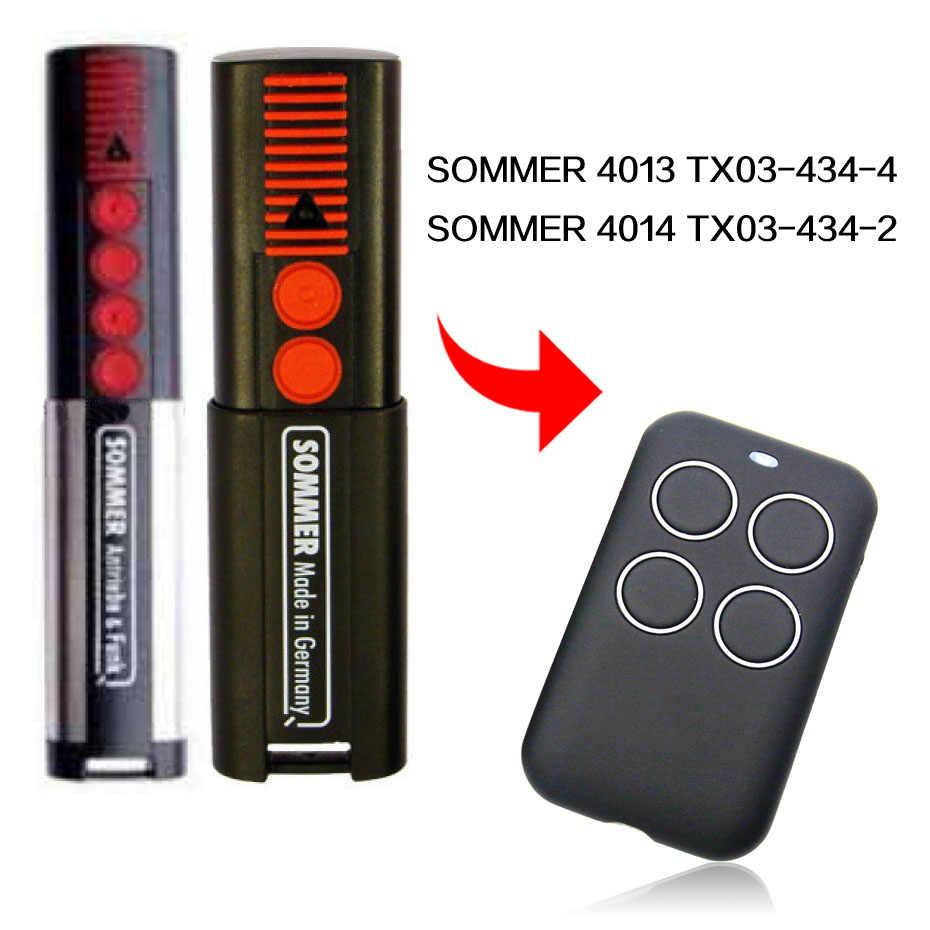 ソマー 4013 TX03 4014 TX03 434-2 リモコンゲートガレージドアソマーリモートコントロール 433.92MHz