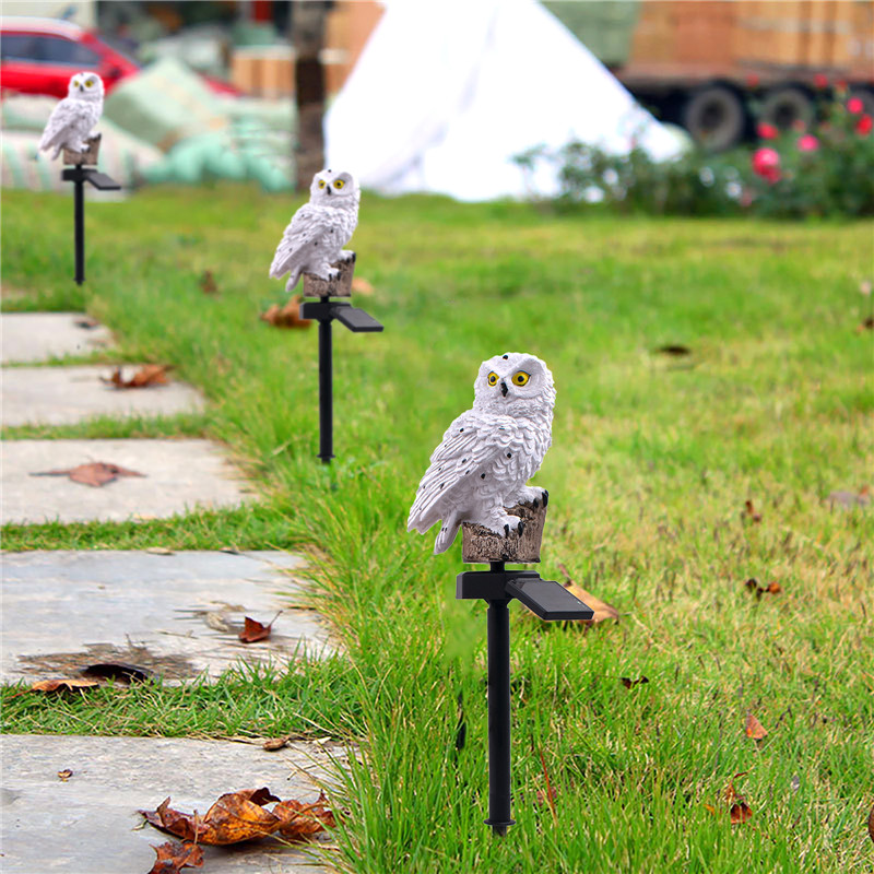 1PCS Owl Light Decor Solar Power Animal Light Led Owl Lights Landscape Path Light for Park/Patio/Deck/Yard/Pathway Warm White1PCS Owl Light Decor Solar Power Animal Light Led Owl Lights Landscape Path Light for Park/Patio/Deck/Yard/Pathway Warm White