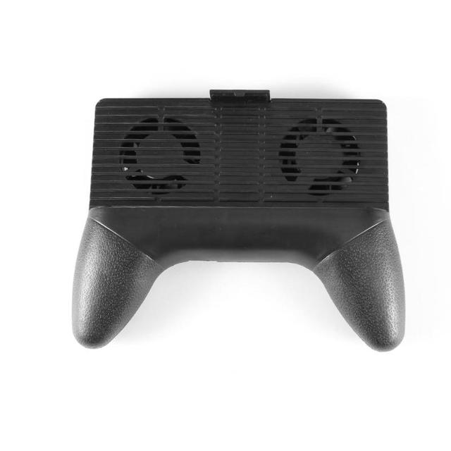 Heatsink Phone Holder Cooling Fan Handle Game Holder Stand Tablet Bracket Charging Power Bank for iPhone Samsung Xiaomi