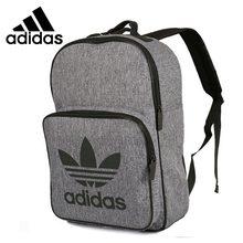 4c7e5fd2ef672 Adidas New Arrival oryginalny klasy Unisex plecaki szary wygodne torby  sportowe   CD6058