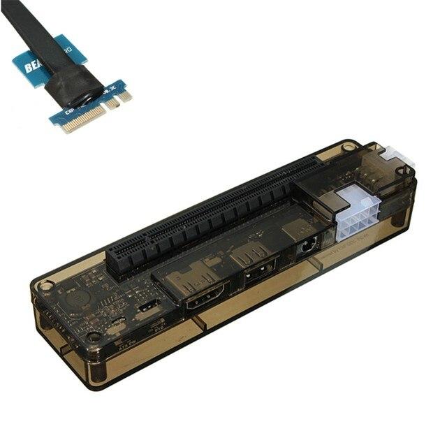 Hot V8.0 EXP GDC الوحش محمول خارجي مستقل بطاقة الفيديو حوض NGFF دفتر PCI E التوسع