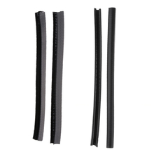 2 Pairs Durable Skateboard Longboard Deck Protection Strip Nose Tail Guard Rubber Strip Anti-Collision все цены
