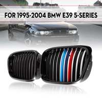 Car Styling Front Gloss Black Wide Kidney Grille Grill For BMW E39 5 series 525 528 530 535 M5 1995 2004