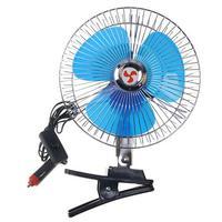 12V/24V Mini Elektrische Auto Auto Fan Geräuscharm Sommer Lüfter Lkw Fahrzeug Starke Wind Luft kühler Conditioner