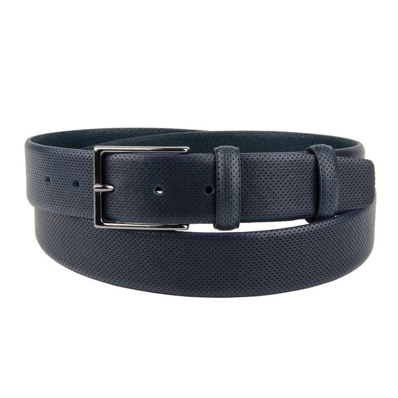 Belt Sergio Belotti unisex 211/35 Blu unisex adjustable posture corrector back support belt for adults