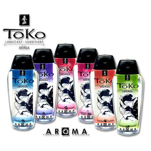 Shunga Toko Lubricant Cherry Aroma Intimate Transparent Natural Ingredients Compatible with Condoms and with Sex Toys Love 5