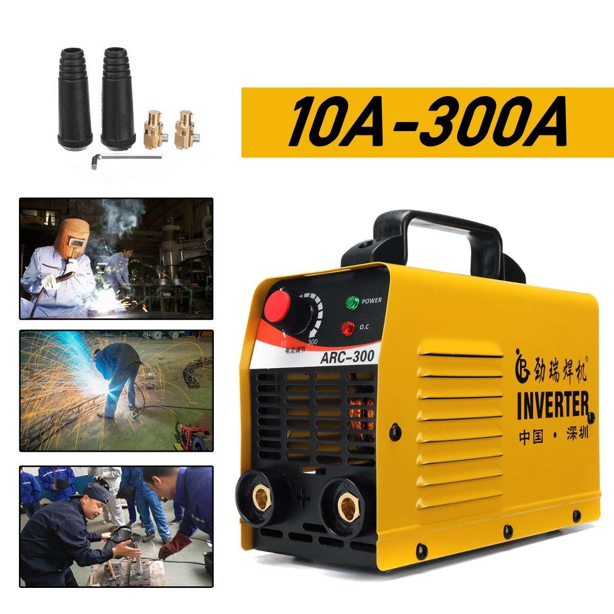 Livraison gratuite IGBT ARC 10-300A soudeur onduleur machine de soudage IGBT MMA ARC ZX7 machine de soudage facile soudure électrode soudeuse à l'arc