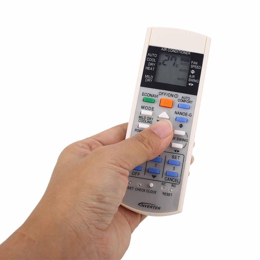 Пульт дистанционного управления Управление для кондиционер Panasonic A75C3298 A75C2817 A75C3182 A75C2835 A75C3184 Управление пульт дистанционного управления RC ЖК-дисплей силиконовая кнопка