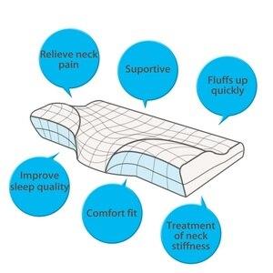 Image 3 - Schlaf Memory Foam Kissen Bett Orthopädische Kissen für Hals Schmerzen Ergonomische Kissen und Zurück Schwellen Seite Schwellen & Magen Sleeper