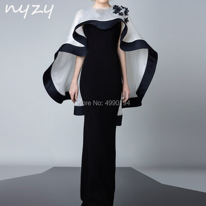 2 Piece Velvet Mother Of The Bride Groom Dresses With Bolero Jacket Mermaid White Black Evening Formal Dress 2019 NYZY M102