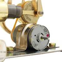 Double Cylinder Air Stirling Engine Model Motor Generator Toy Early Education Gift For Children Gift Collection