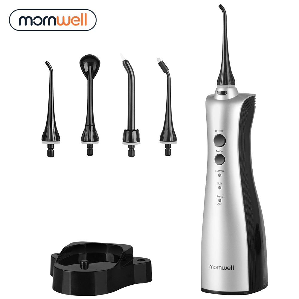 Oral Irrigator Rechargeable Water flosser Portable Dental Irrigator Teeth Clean Oral Dental Floss Water Jet irrigator(China)