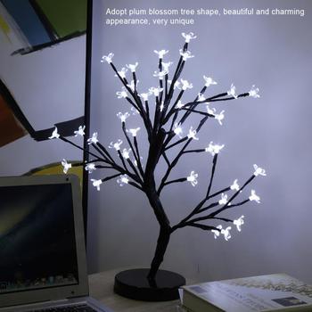 Светодиодная Рождественская елка лампа люки LED декорацион ночник для свадьбы рождественские украшения дома Дерево свет