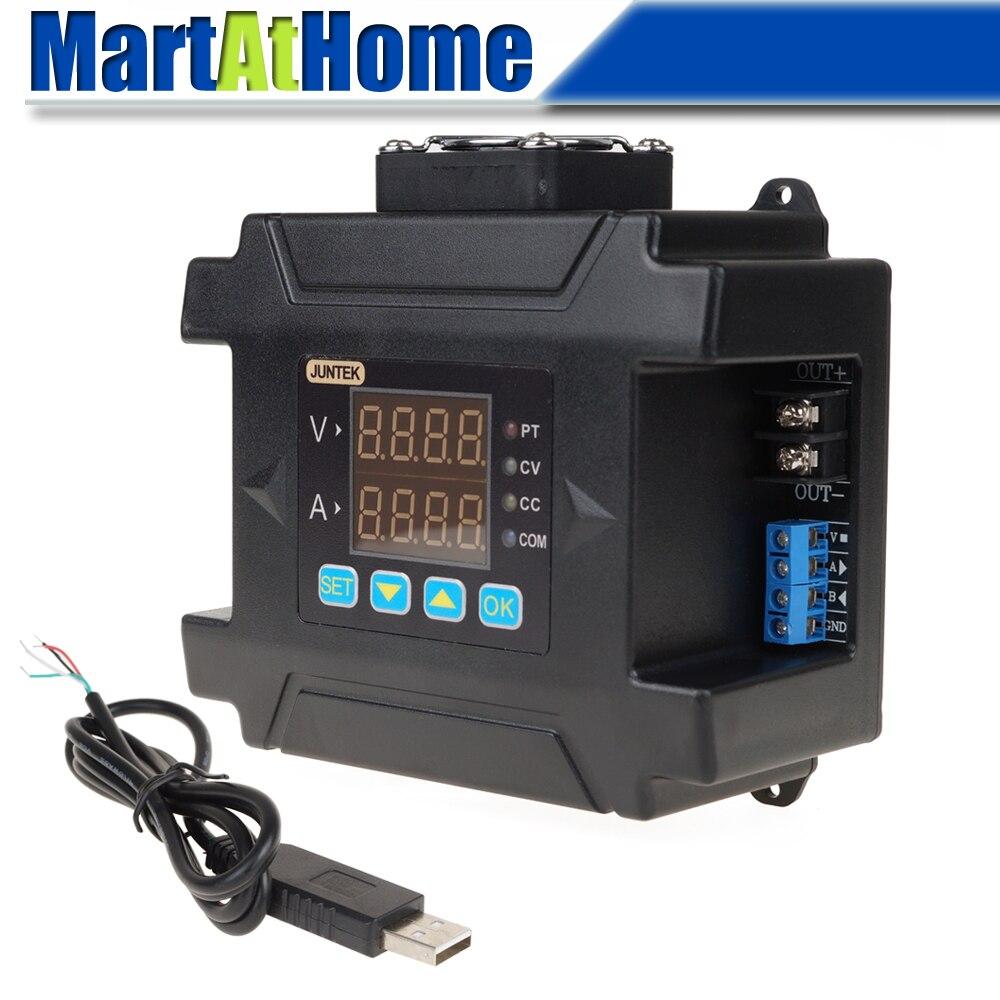 Contrôle numérique Programmable réglable DC régulé alimentation Buck DC-DC abaisseur entrée 10 ~ 75 V DC sortie 0 ~ 60 V DC 0 ~ 8A LCD