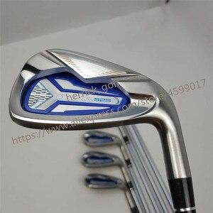 Image 3 - Clube feminino ferros de golfe honma bezeal 525 clubes de golfe com grafite l flex 6 11.sw 7 peça frete grátis