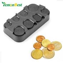 Case Dispenser-Organizer Container Storage-Box Coin-Holder Euro-Coins Car-Interior Loose-Change