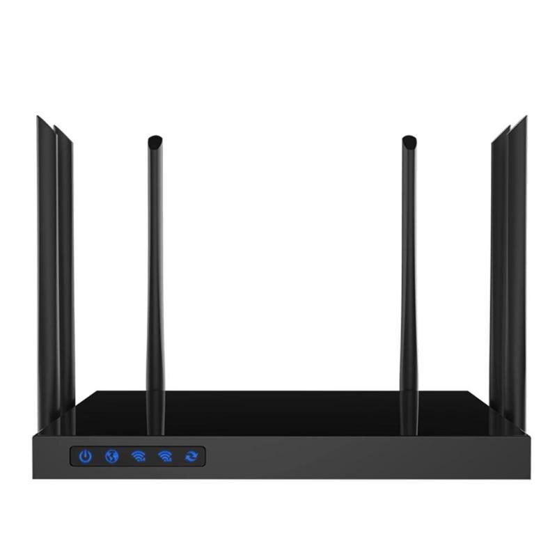 Chaude 1750 Mbps AC WIFI Routeur COMFAST 2.4g + 5.8g Enginering AC Gérer routeur 1Wan 4Lan 802.11ac accès point wi fi routeur WRT Ouverte