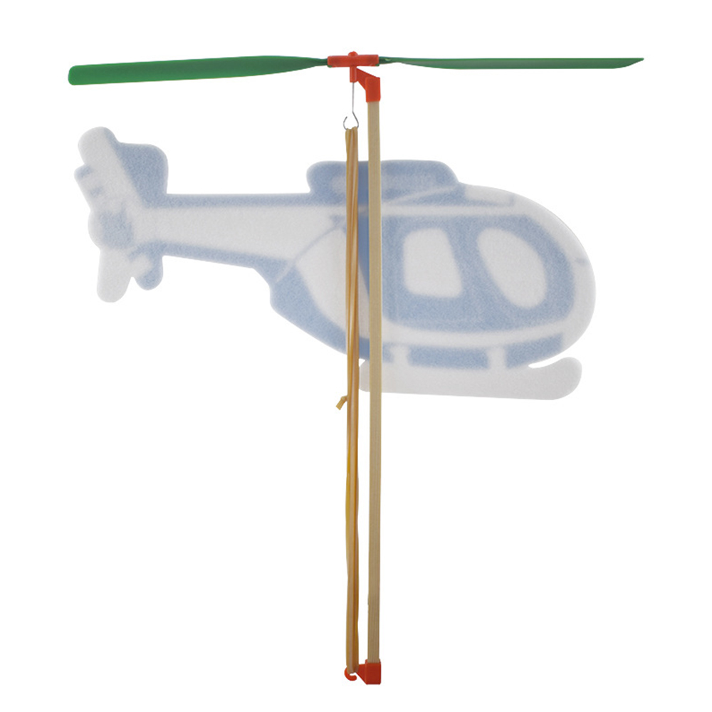 Игрушечный самолет экспериментальный самолет Сделай Сам самолет бумага Самолет пластик DIY эксперимент полета долговечный подарок Личность детская игра