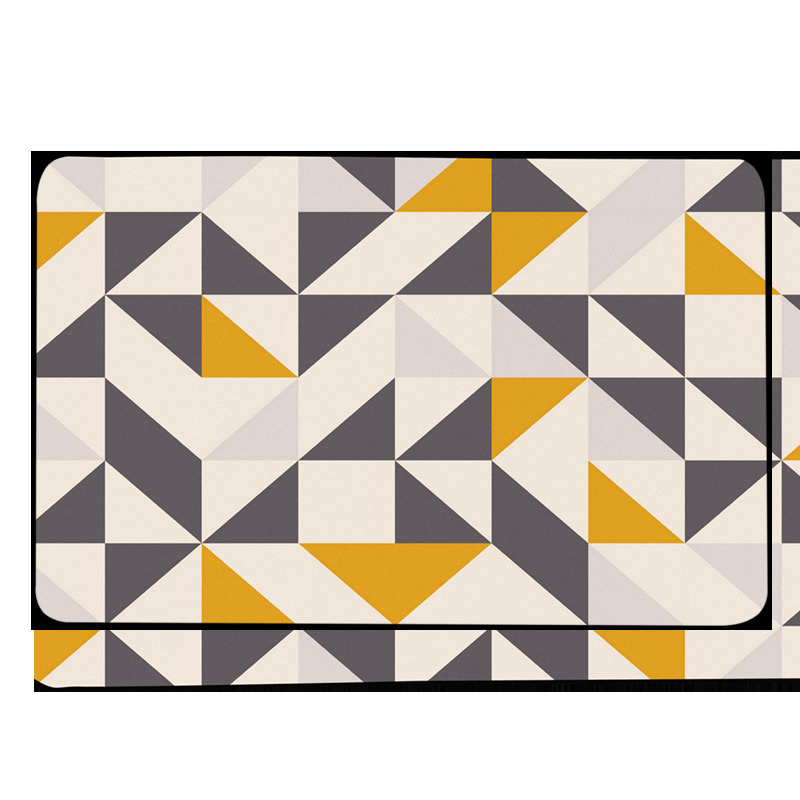 Tapis géométriques nordiques salon chambre étude chevet tapis moderne décor vitrine Rectangle tapis ménage Yoga couverture tapis - 2