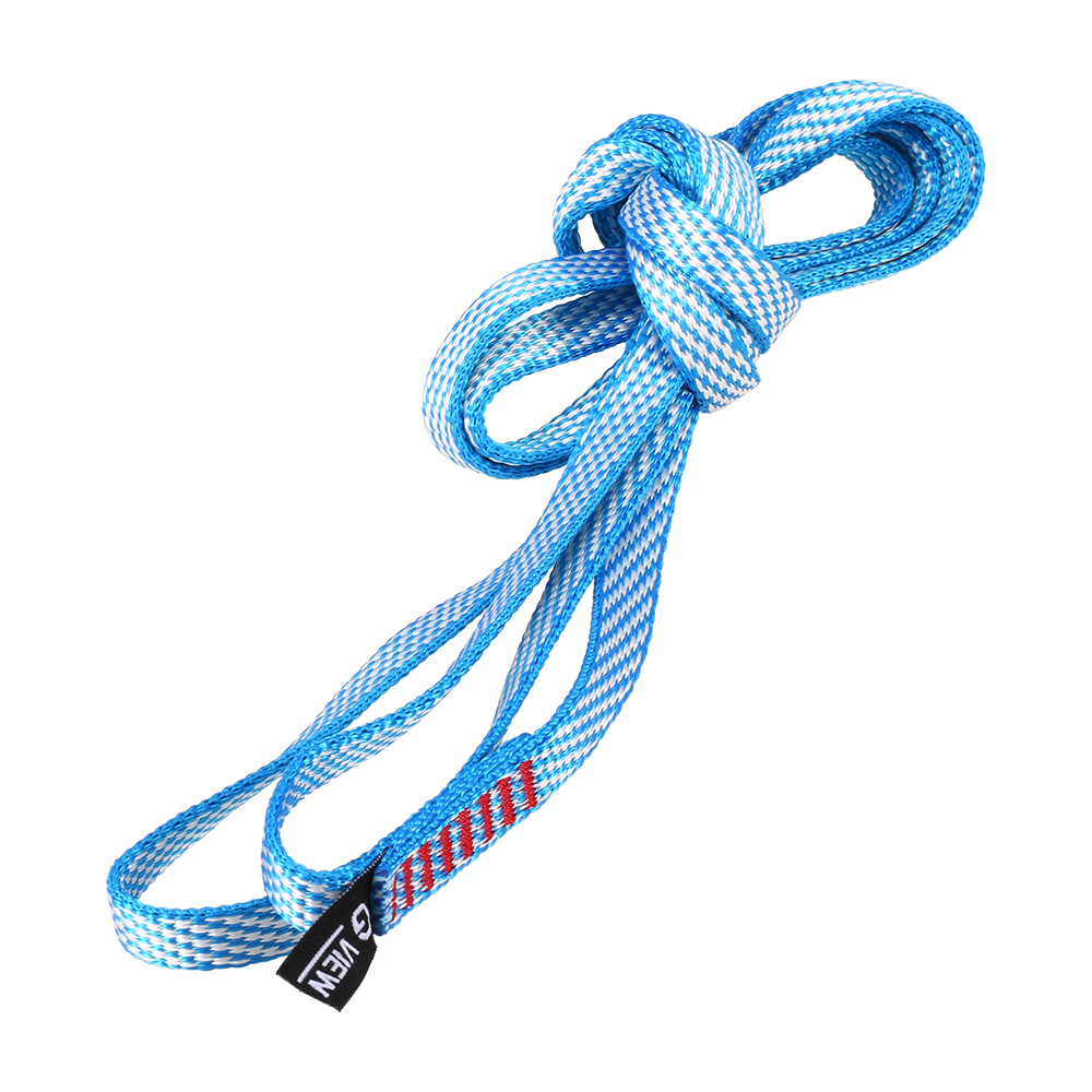 Fitness & Body Building Lower Price with 60cm/120cm Outdoor Safety Belt Lanyard Hammock Strap Rope Climbing Swing Sling Nylon Yoga Sand Bag Flat Strap 23kn