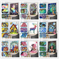 5D DIY Diamond Painting Cartoon Character Animal Special Shape Diamond Painting Mosaic Decoration