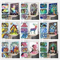 5D DIY Diamond Painting Cartoon Character Animal Special Shape Diamond Painting Mosaic Decoration