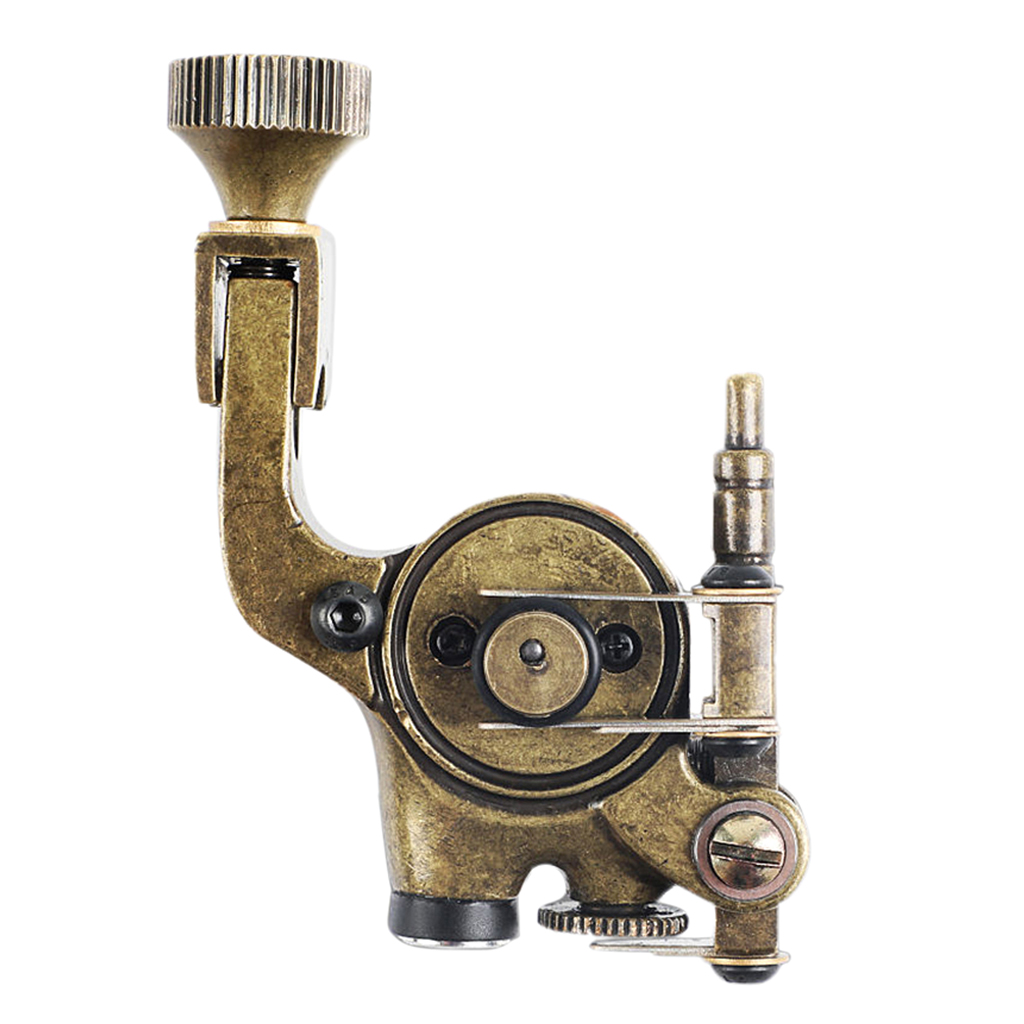 Professional Kirsite Rotary Motor Tattoo Machine for Tattoo Artists Shader Liner Supply with Clip Cord Set цена