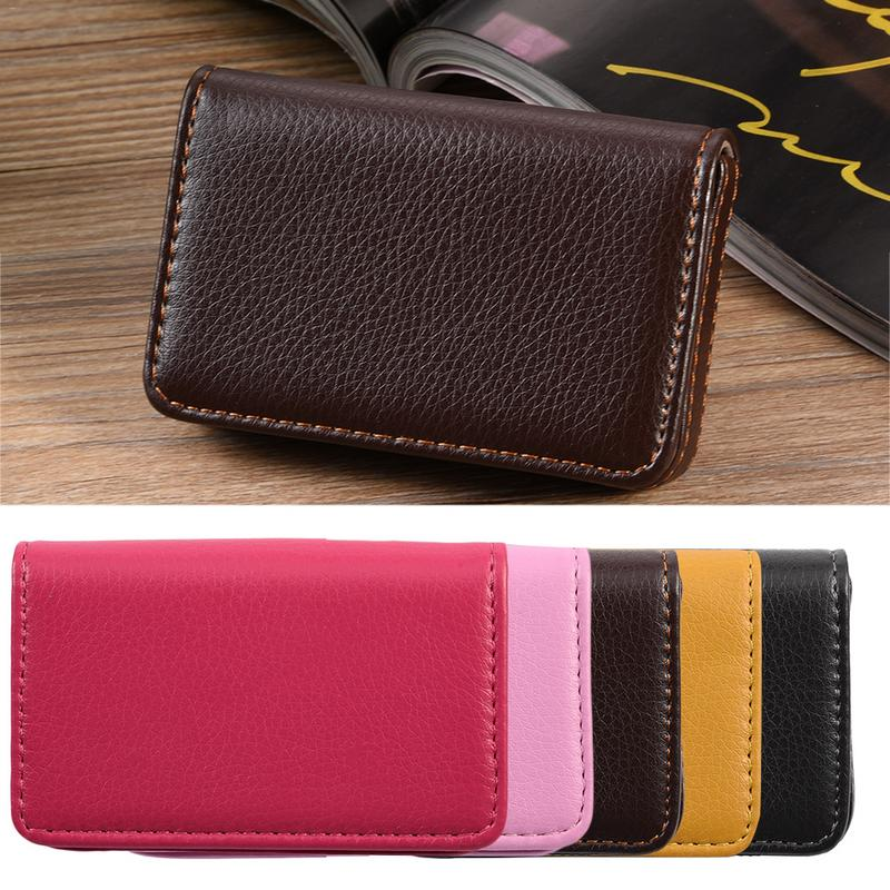 Large Capacity Fashion Business Stainless Steel Card Case For Male And Female Business Card Holder Name Card Holder Box