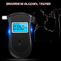 1PC Police Digital Breath Alcohol Tester Breathalyzer with LCD Dispaly with 5 Mouthpieces YSK001 Hot Selling Drop Shipping