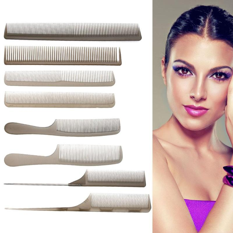 8pcs Hairdressing Combs Antistatic Cutting Comb Barber Stylist Set Hair Comb Salon Dressing Brushes Tool for Beauty Style