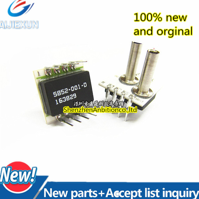 1 قطعة جديدة ومبتكرة SM5852 001 D 3 LR 5852 001 D تضخيم استشعار الضغط SM5852 في الأوراق المالية