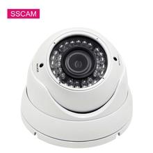Высокое разрешение 4MP купольная, аналоговая высокой четткости камера видеонаблюдения Крытый 2,8-12 мм объектив 30 м ночного видения купол Vandalproof инфракрасный CCTV камеры