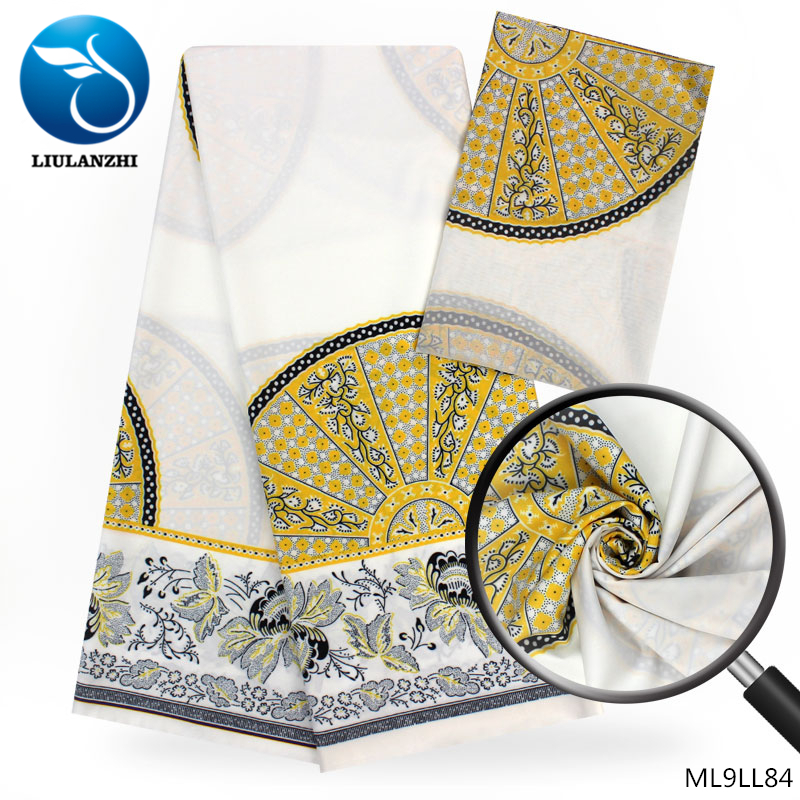 LIULANZHI womens chiffon fabric modal printed fabric wholesale african fabric 4+2yards/lot african wedding clothes ML9LL81-87LIULANZHI womens chiffon fabric modal printed fabric wholesale african fabric 4+2yards/lot african wedding clothes ML9LL81-87