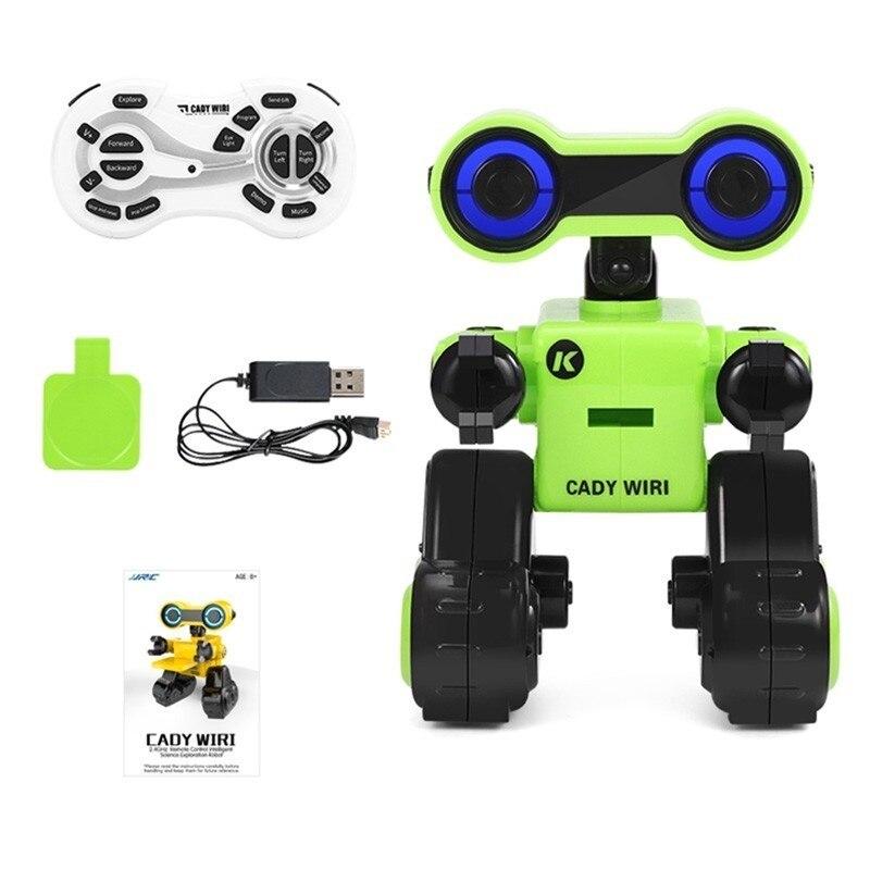 CADY WIRI R13 JJRC RC Robô Inteligente Sensível Ao Toque Programável Controle de Registro de Mensagem de Voz Cantar Dança Robôs de Brinquedo Para Presente Das Crianças VS R4 - 5