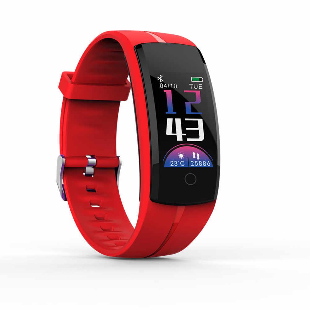 QS100 Tay Thông Minh Đồng Hồ Thông Minh Huyết Áp Đo Nhịp Tim Theo Dõi Sức Khỏe Vòng Tay Dành Cho Android IOS Đồng Hồ Thông Minh Smartwatch
