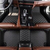 3d 5d Car Floor Mats for Volkswagen Golf Variant 6 7 Passta B7 B8 Touarge Tiguan Polo Arteon All Molds car accessories auto mats