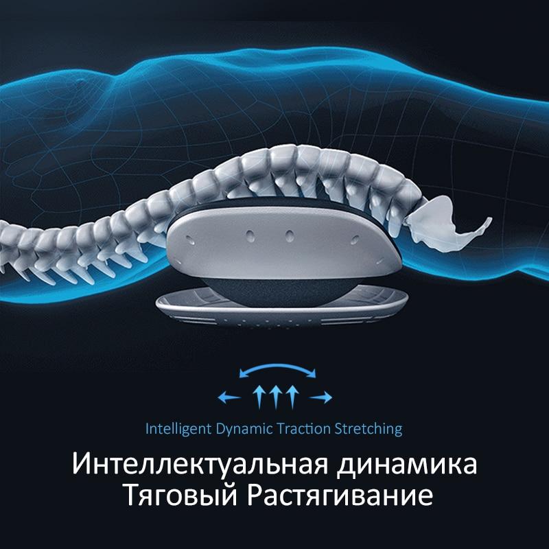 Electric Lumbar Traction Device Waist Back Massager Vibration Massage Lumbar Spine Support Waist Relieve waist fatigue in Massage Relaxation from Beauty Health