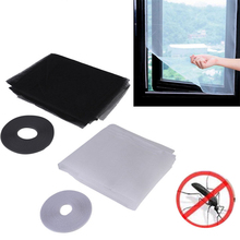 DIY Magic Sticker Window Mesh Door Curtain Snap Net Guard Mosquito Fly Bug Insect WXV Sale